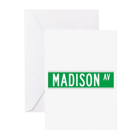 Madison Ave., New York - USA Greeting Cards (Pack