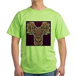 Quetzalcoatl 1 Green T-Shirt