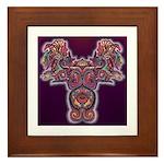 Quetzalcoatl 1 Framed Tile