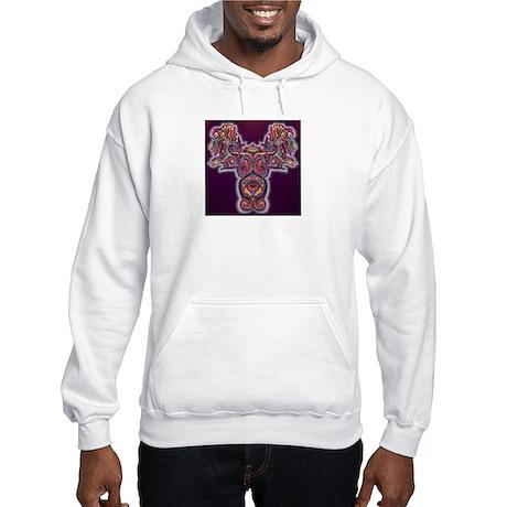 Quetzalcoatl 1 Hooded Sweatshirt