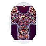 Quetzalcoatl 1 Oval Ornament