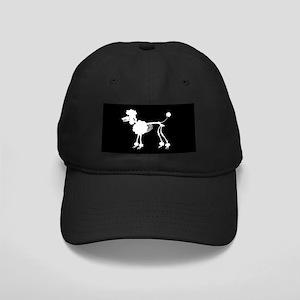 Poodle Skeleton Black Cap