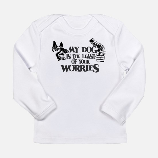 Least of Your Worries Long Sleeve Infant T-Shirt