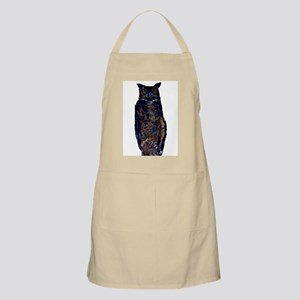 great horned owl BBQ Apron