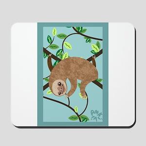 Sleepy Sloth Mousepad