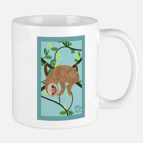 Sleepy Sloth Mug