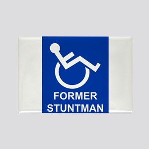 Former Stuntman Rectangle Magnet