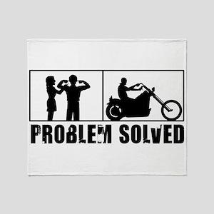 Problem Solved Throw Blanket