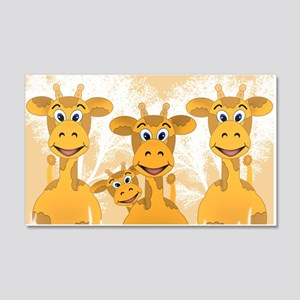 Giraffes Wall Decal