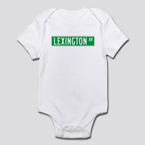 Lexington Ave., New York - USA Infant Bodysuit