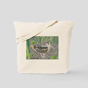 Woodcock Tote Bag