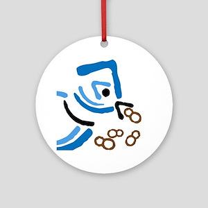 Blue Jay. Ornament (Round)