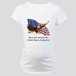 ausbornandraised Maternity T-Shirt