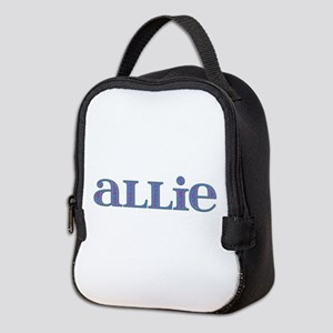 Allie Blue Glass Neoprene Lunch Bag