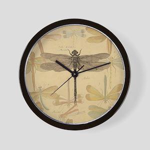 Dragonfly Vintage Wall Clock