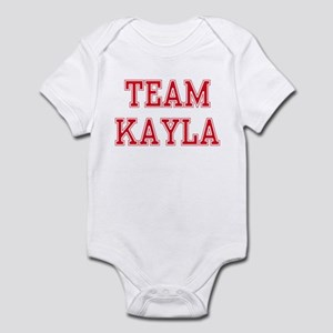 TEAM KAYLA  Infant Creeper