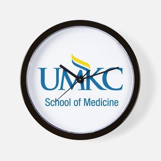 UMKC School of Medicine Apparel Products Wall Cloc