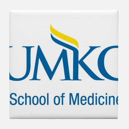 UMKC School of Medicine Apparel Products Tile Coas