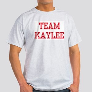 TEAM KAYLEE  Ash Grey T-Shirt