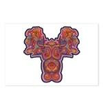 Red Quetzalcoatl Postcards (Package of 8)
