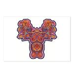 Red Quetzalcoatl Postcards (Package of 8)