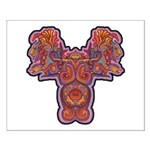 Red Quetzalcoatl Small Poster