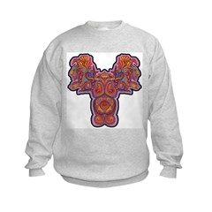 Red Quetzalcoatl Sweatshirt