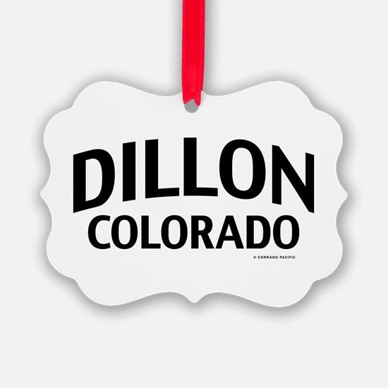 Dillon Colorado Ornament