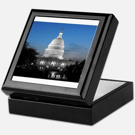 Capitol Hill Blue Keepsake Box