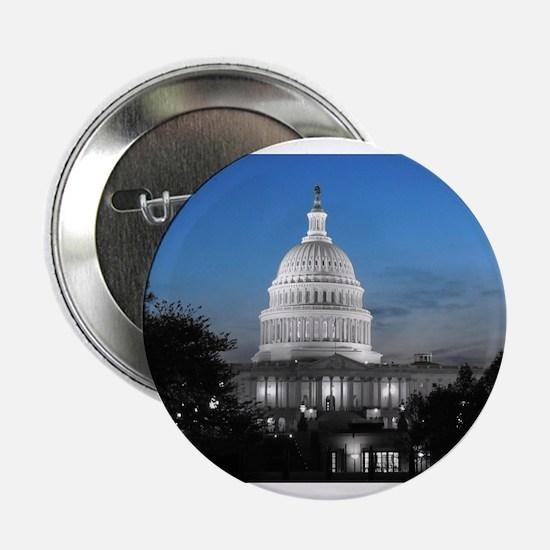 "Capitol Hill Blue 2.25"" Button"