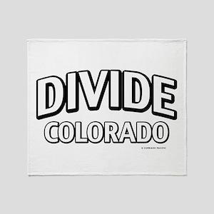Divide Colorado Throw Blanket