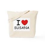 I love Susana Tote Bag