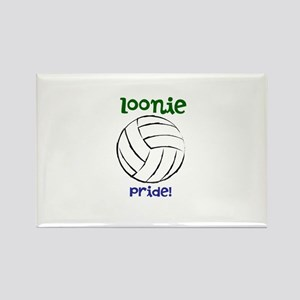 loonie pride- volleyball Rectangle Magnet