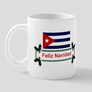 Cuban Feliz Navidad Mug