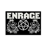 Enrage Landfill Kings Rectangle Magnet Magnets