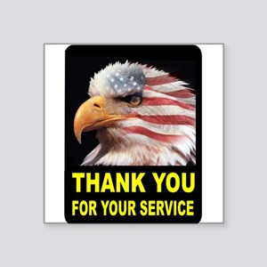 MILITARY THANKS Sticker