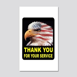 MILITARY THANKS Wall Decal