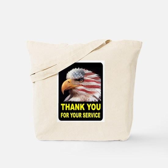 MILITARY THANKS Tote Bag