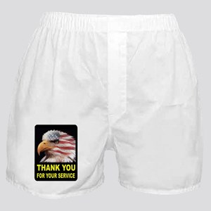 MILITARY THANKS Boxer Shorts