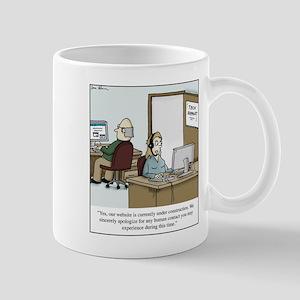 Human contact Mugs