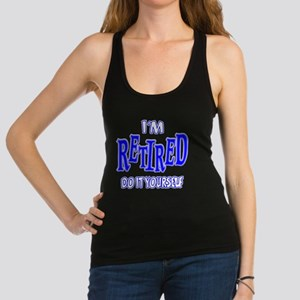 Im Retired Racerback Tank Top