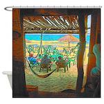 Cozumel Mexico Tropical Beach Shower Curtain