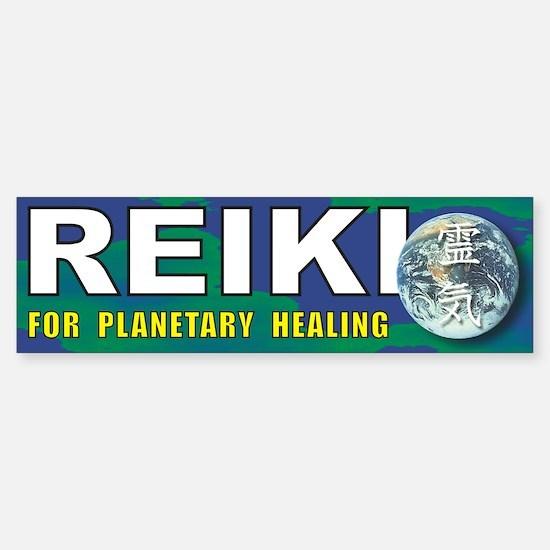 Reiki Planetary Healing Bumper Bumper Bumper Sticker