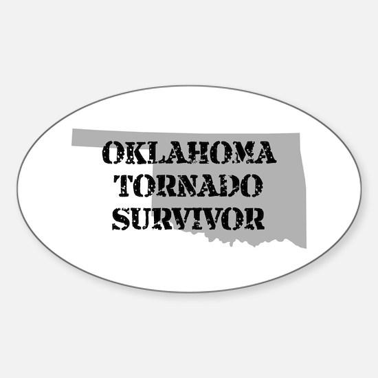 Oklahoma Tornado Survivor Decal