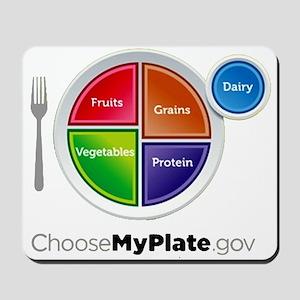 Choose My Plate Mousepad