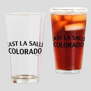 East La Salle Colorado Drinking Glass