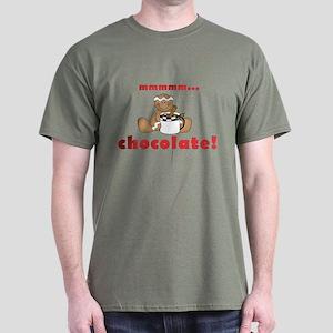 Mmmm Chocolate Dark T-Shirt