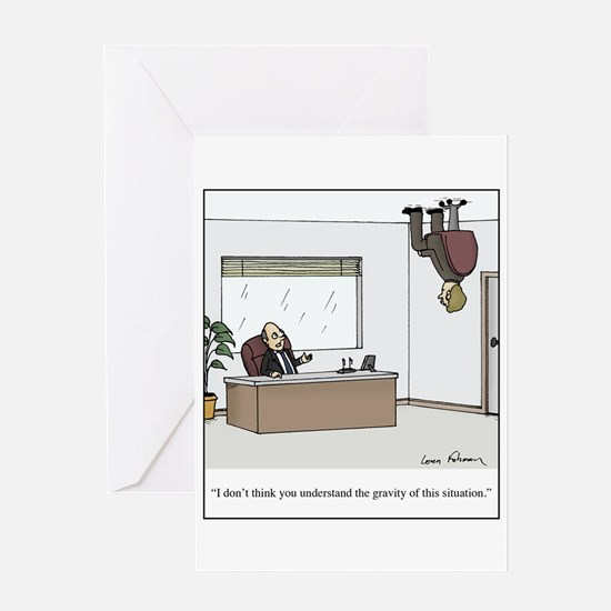 Cute Law office Greeting Card