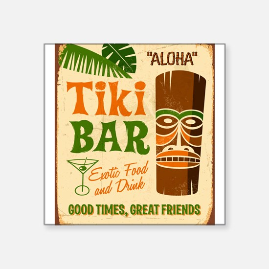 Tiki Bar Sticker