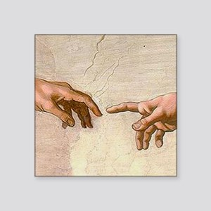 Michelangelo Creation of Adam Sticker